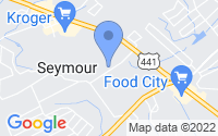 Map of Seymour TN