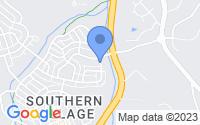 Map of Chapel Hill NC