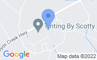 Map of Sevierville TN