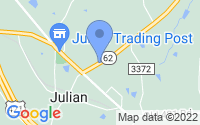 Map of Julian NC