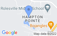 Map of Rolesville NC