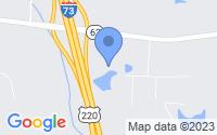 Map of Randleman NC