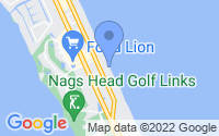 Map of Nags Head NC