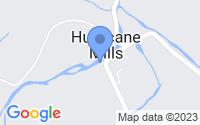 Map of Hurricane Mills TN