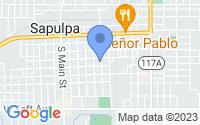 Map of Sapulpa OK