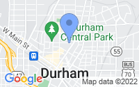 Map of Durham NC