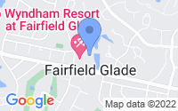 Map of Fairfield Glade TN