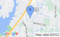 Map of High Point NC