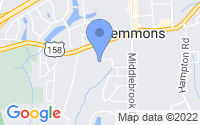 Map of Clemmons NC