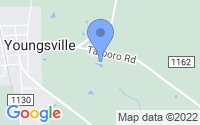 Map of Youngsville NC