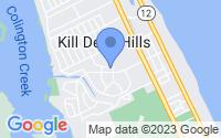 Map of Kill Devil Hills NC