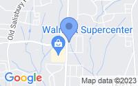 Map of Winston Salem NC