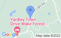 Map of Wake Forest NC