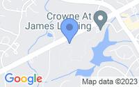 Map of Jamestown NC