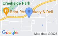 Map of Farmington AR