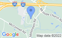 Map of McLeansville NC