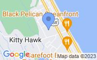 Map of Kitty Hawk NC