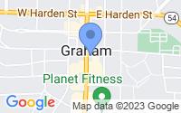 Map of Graham NC