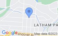 Map of Greensboro NC