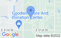 Map of Broken Arrow OK