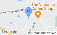 Map of Burlington NC