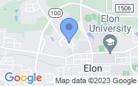 Map of Elon NC