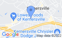 Map of Kernersville NC