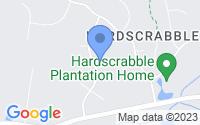 Map of Hillsborough NC