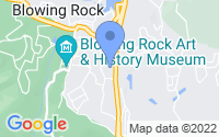 Map of Blowing Rock NC
