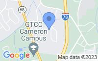 Map of Oak Ridge NC