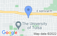 Map of Tulsa OK
