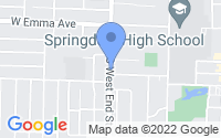 Map of Springdale AR