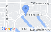 Map of Las Vegas NV
