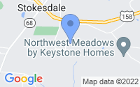 Map of Stokesdale NC