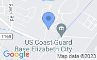 Map of Elizabeth City NC