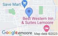 Map of Lemoore CA