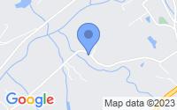 Map of Oneida TN