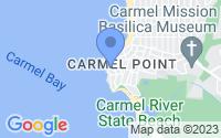 Map of Carmel CA