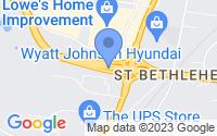 Map of Clarksville TN