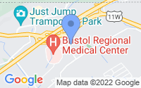 Map of Bristol TN