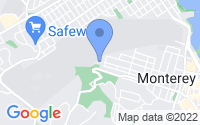 Map of Monterey CA