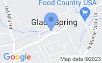 Map of Glade Spring VA