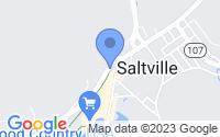 Map of Saltville VA