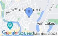 Map of Santa Cruz CA
