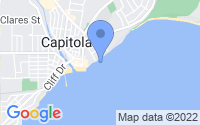 Map of Capitola CA