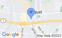 Map of Soquel CA