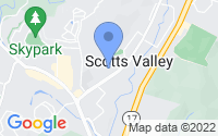Map of Scotts Valley CA