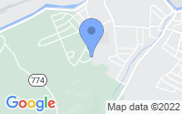 Map of Salem VA