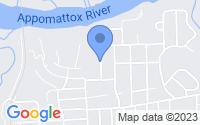 Map of Hopewell VA
