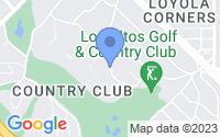 Map of Los Altos CA